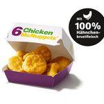Chicken McNuggets 6er mit Sauce für 1,50€ (statt 4€) – oder 22 Stück für 4,99€
