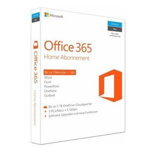 Microsoft Office 365 Home ab 45€ (statt 59€)   1 Jahr für 6 Benutzer (Win, Mac oder Tablet)