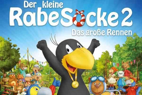 kika Mediathek: Der kleine Rabe Socke 2   Das große Rennen (IMDb 7/10)