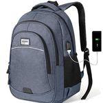 KUSOOFA Business Rucksack max. 15,6 Zoll Notebook mit USB-Ladeanschluss ab 19,59€ (statt 28€)