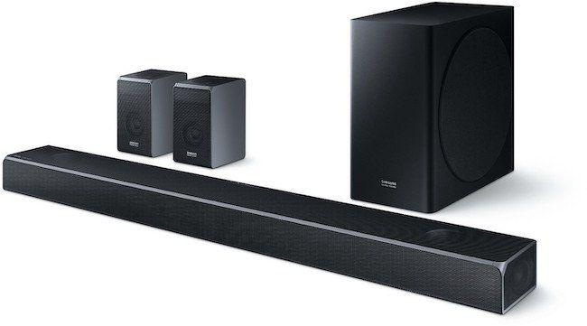 Samsung HW Q90R   7.1.4 Kanal Soundbar mit 510 Watt für 885,15€ (statt 1.039€)