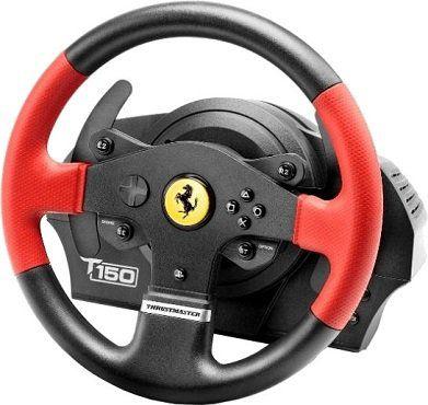 THRUSTMASTER T150 Ferrari Edition Lenkrad inkl. 2 Pedalset ab 116,71€ (statt 164€)