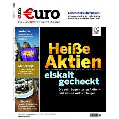 Jahresabo Euro für 96€ + Prämie: 90€ BestChoice Gutschein