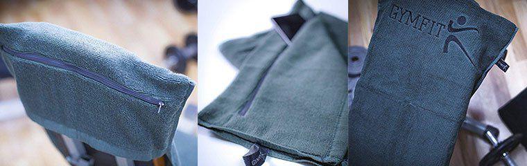 GymFit Fitness Handtuch aus 100% Baumwolle inkl. Tasche & mehr ab 17,50€ (statt 20€)