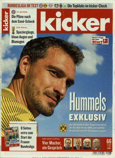 104 Ausgaben vom Kicker für 236,60€ inkl. 130€ Amazon Gutschein
