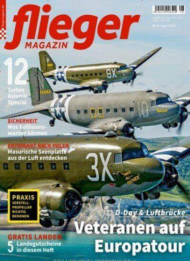 Jahresabo Fliegermagazin für 81,60€   Prämie: 75€ Amazongutschein