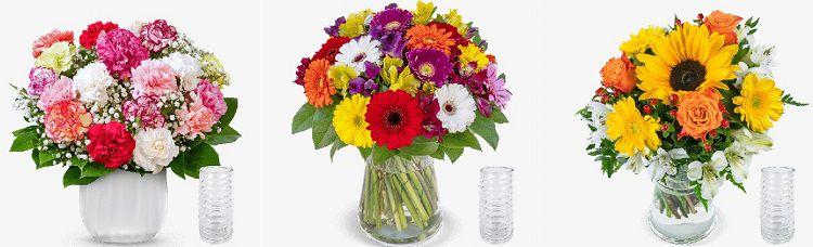 Blumeideal mit 15% Extrarabatt auf nicht reduzierte Blumensträuße