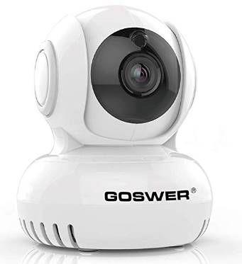 Gowser 1080p IP Cam mit Nachtsicht & Bewegungsmelder für 26,39€ (statt 44€)