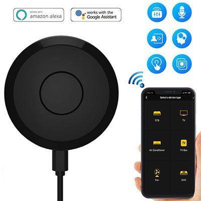 Tuya Wifi IR Remote Controller mit Sprachsteuerung (Google Home, Alexa, IFTTT) für 9,99€   aus DE