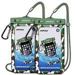 Doppelpack: IPX8 wasserdichte Handyhülle für bis zu 6 Zoll für 4,69€ – Prime