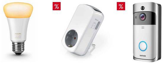 30% Rabatt auf Smart Home Artikel bei Otto   z.B. Medion Starterset für 135,94€ (statt 236€)