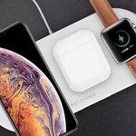 7,5 Watt Qi-Ladegerät für Smartphones, Airpods & Apple Watch für 17,90€
