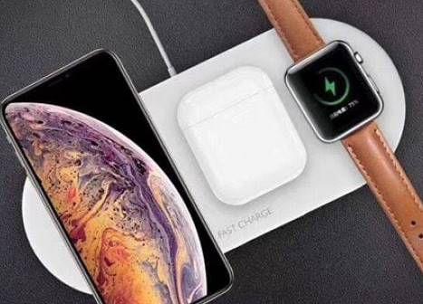 7,5 Watt Qi Ladegerät für Smartphones, Airpods & Apple Watch für 17,90€