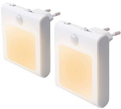 2x LED Nachtlicht für Steckdose mit Bewegungsmelder für 10,39€ (statt 16€) – Prime