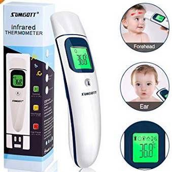 Digitales Stirnthermometer mit Infrarotsensor für 16,09€ (statt 23€)
