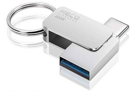 MECO ELEVERDE 2in1 32GB USB C OTG Stick für 8,99€   Prime