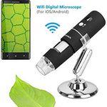 WLAN Mikroskop mit bis zu 1000x Vergrößerung für 19,99€ (statt 30€)