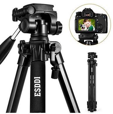 ESDDI TP 35 Kamerastativ (bis zu 170cm) mit 360° Kugelkopf für 24,99€ (statt 40€)