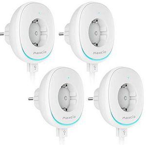 4er Pack: WLAN Steckdose mit 2x USB & Steuerung via Alexa, Google Home & IFTTT für 27,99€ (statt 40€)