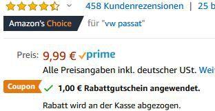 2er Pack: YOSH magnetische Kfz Handyhalterung für 6,79€   Prime