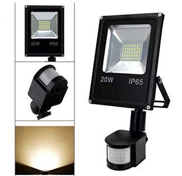 LED Fluter (10 bis 50W) mit Bewegungsmelder ab 10,49€ (statt 15€)