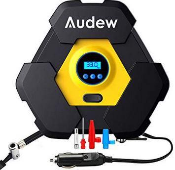 Audew digitale Luftpumpe mit 120W & 3m Kabel für 12,49€ (statt 25€)