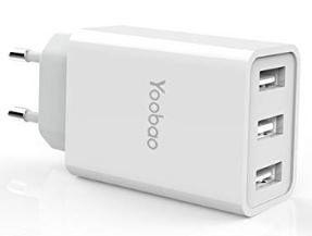 Yoobao YB723   3 Port USB Ladegerät für 7,99€   Prime