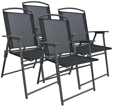 VCM Gartenstuhl Set mit 4 Metallstühle für 54,99€ (statt 75€)