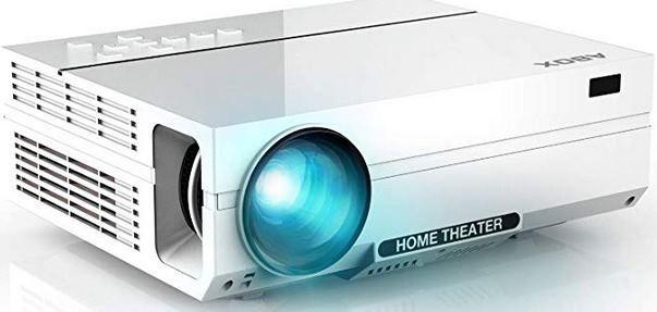ABOX A6   1080p LED Beamer mit 4000 Lumen für 169,99€ (statt 260€)
