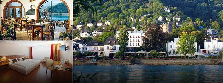 2 ÜN an der Loreley direkt am Rheinufer inkl. Frühstück & Gästekarte für 64,99€ p.P.