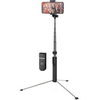Blitzwolf BW BS8 2in1 Selfie Stick & Stativ (bis 1,6m) für 15,39€ (statt 22€)