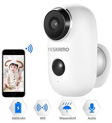 1080p WLAN Cam mit Akku für Innen & Außen für 59,99€ (statt 89€)