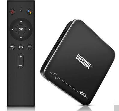 Mecool M8S Pro+ TV Box mit Sprachsteuerung für 26,85€