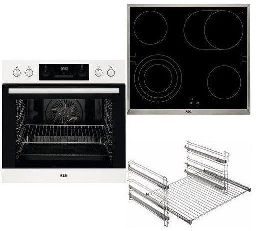 AEG HB3013WS31 Glaskeramik Kochfeld & Einbauherd im Set für 777€ (statt 793€) + 70€ Coupon