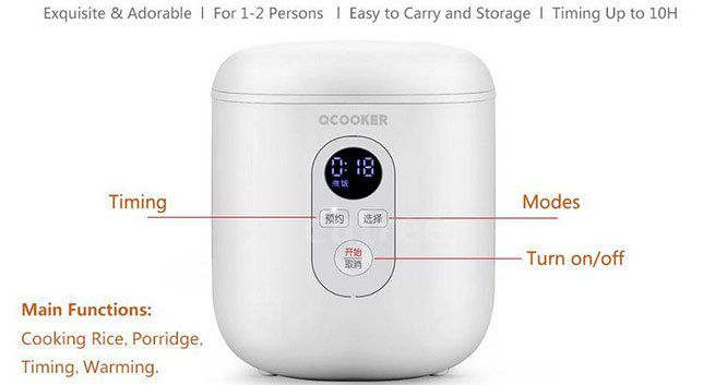 Xiaomi Ocooker QF1201 1,2L Reiskocher für 44,99€   aus DE