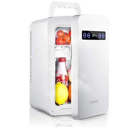 OMORC 10L Minikühlschrank für Haus, Büro & Auto für 69,99€ (statt 136€)