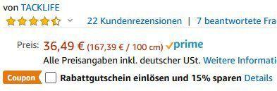 Tacklife ACP1B   mobiler 12V Autokompressor mit 10 Bar für 18,25€ (statt 36€)