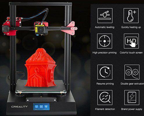 CREALITY CR 10S Pro (Upgraded) 3D Drucker für 368,24€ (statt 499€)   aus DE