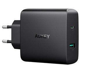 AUKEY PA Y10   56,5W USB C Ladegerät mit Power Delivery 3.0 für 24,99€ (statt 40€)
