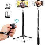 Fotopro 4G-MS – 2in1 SelfieStick mit Fernauslöser für 9,85€ – Prime