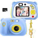 Pacnellent 12MP Kinderkamera mit Farbdisplay, WLAN & 16GB SD-Karte für 29,94€ (statt 50€)