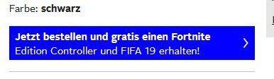 Playstation 4 Pro 1TB + Fortnite Controller + FIFA19 ab 329,05€ (statt 405€)