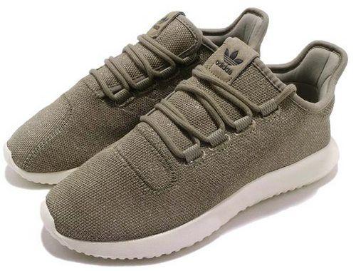 adidas Originals Tubular Shadow Damen Sneaker Khakiweiß für