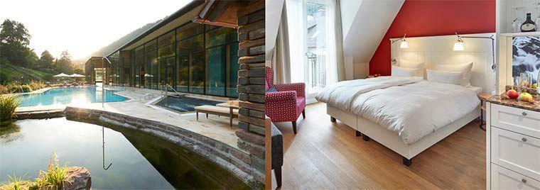 2 ÜN im Nordschwarzwald in 4*S Hotel inkl. Frühstück, Dinner, Spa & 2.500 m² Therme ab 169€ p.P.