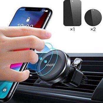 Ainope Magnet Handyhalter fürs Auto nur 4,40€ (statt 11€)   Prime