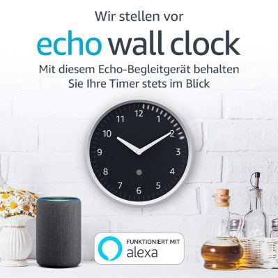 Amazon Echo Wall Clock ab sofort hierzulande bestellbar