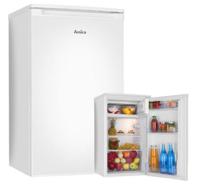 Amica KS 15195 W   84 Liter Kühlschrank mit Gefrierfach für 111€ (statt 165€)