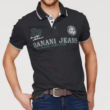 Bruno Banani Polo Shirt in Anthrazit Weiß für 12,74€ (vorher 40€)   viele weitere Deals