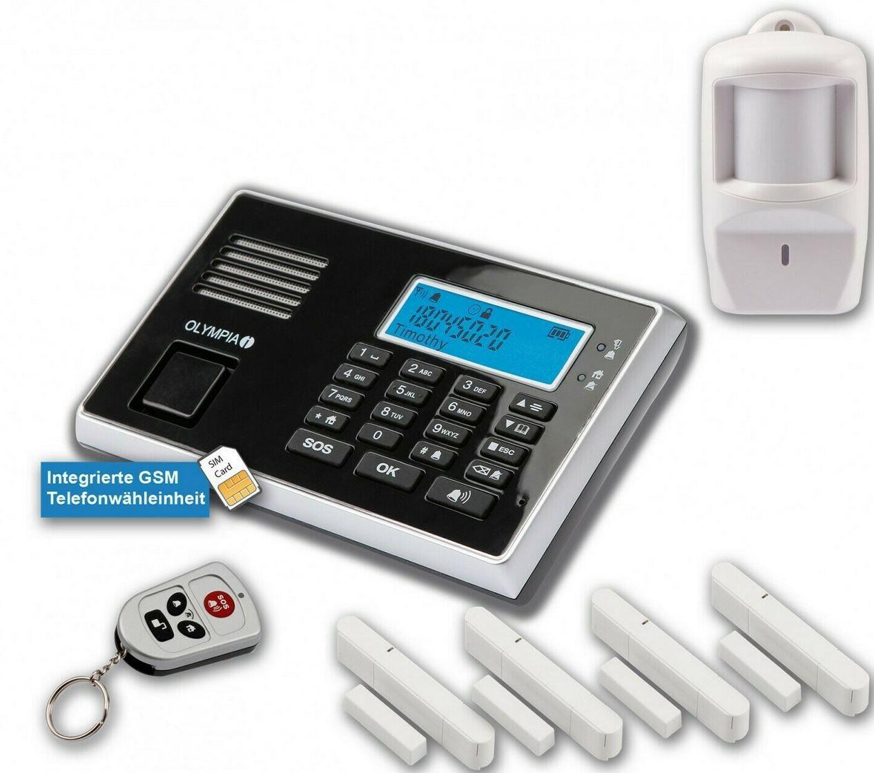 Olympia Protect 9061 Alarmanlage GSM Set Bewegungsmelder für 69,95€ (statt 78€)