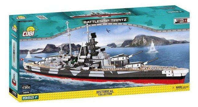 Ausverkauft! Cobi 4809   Schlachtschiff Tirpitz Bausatz für 74,93€ (statt 103€)